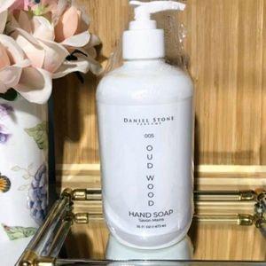 Daniel Stone Oud Wood Luxury Hand Soap 16oz NEW!